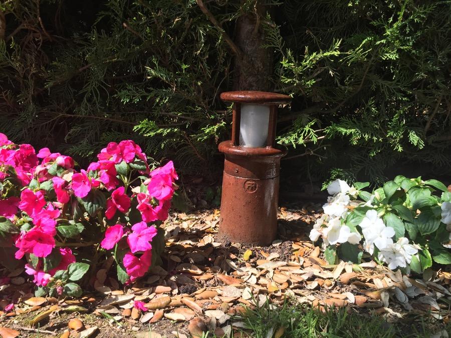 Balizas jardin hierro forjado 35 balizas jard n for Balizas jardin