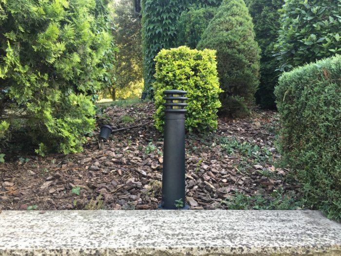 baliza led para jardín