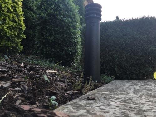 Balizas bajo consumo para jardín