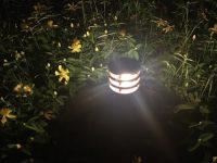 Balizas de diseño bajo consumo para jardín