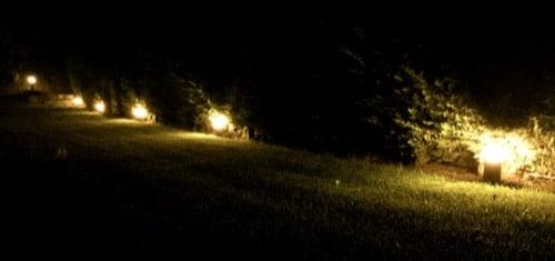 Balizas luminosas jardín