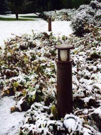Balizas luminosas para jardín